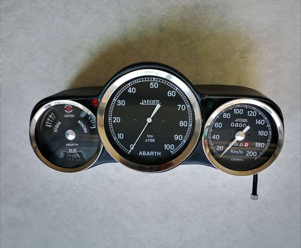 Riproduzione contachilometri FIAT 600