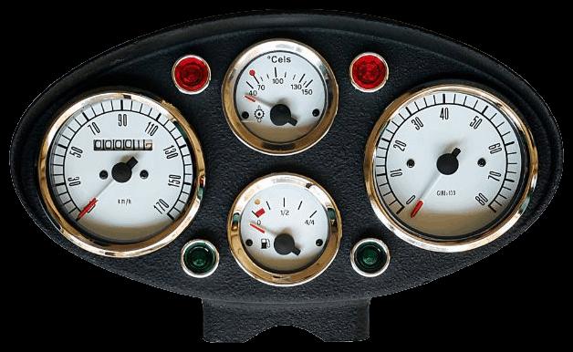 Riproduzione contachilometri FIAT 500C e FIAT 500R
